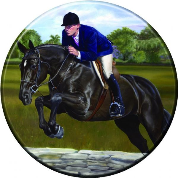 SHOW JUMPER 4x4 Spare Wheel Cover DECAL STICKER